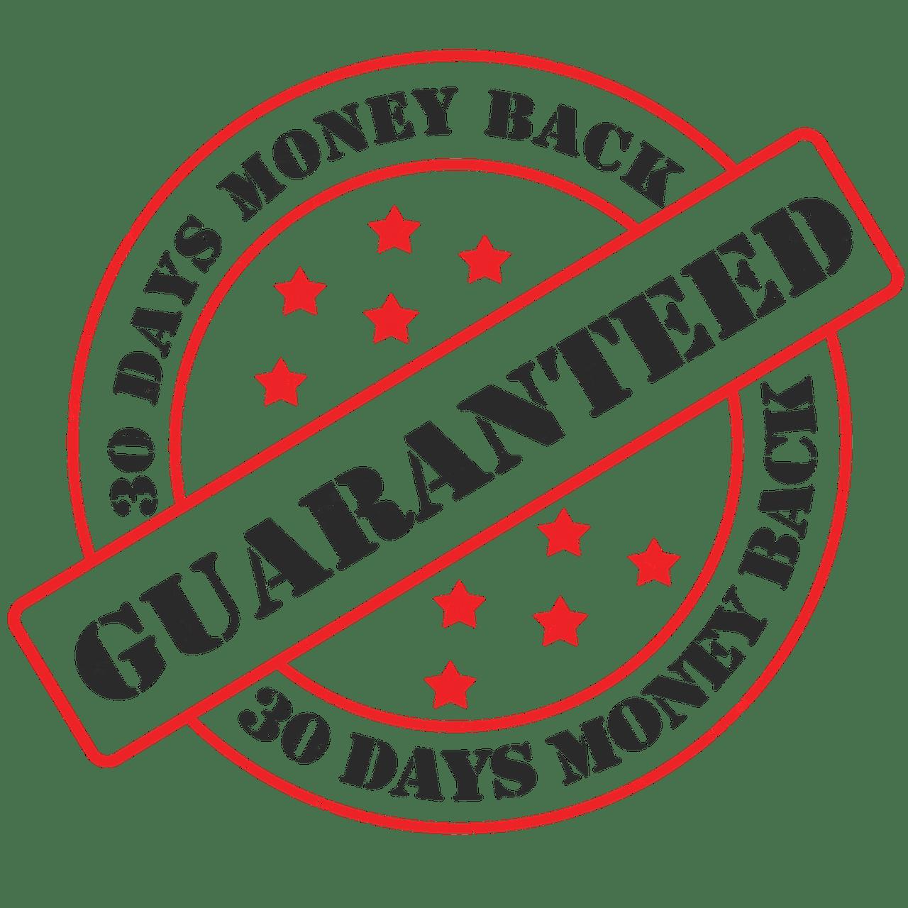 seal, guaranteed, guarantee seal